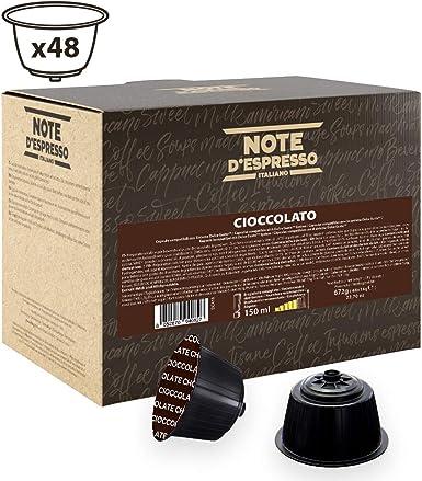 Note DEspresso - Cápsulas de chocolate Exclusivamente Compatibles con cafeteras de cápsulas Nescafé* y Dolce Gusto* 14 g (caja de 48 unidades): Amazon.es: Alimentación y bebidas