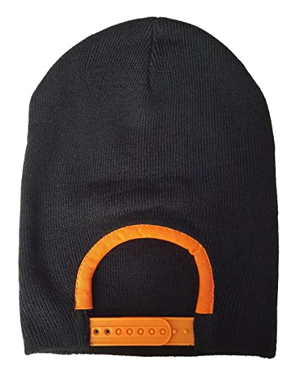 ec8999c0 SNAP SKULL Men's Snapback Beanie OS Orange at Amazon Men's Clothing ...