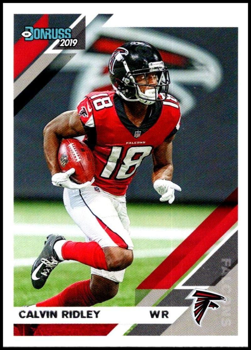 Amazon Com 2019 Donruss 18 Calvin Ridley Atlanta Falcons Nfl Football Trading Card Collectibles Fine Art