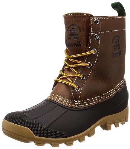 a17e25733ee Kamik Men's Yukon 6 Dark Brown Boot 8 D (M)