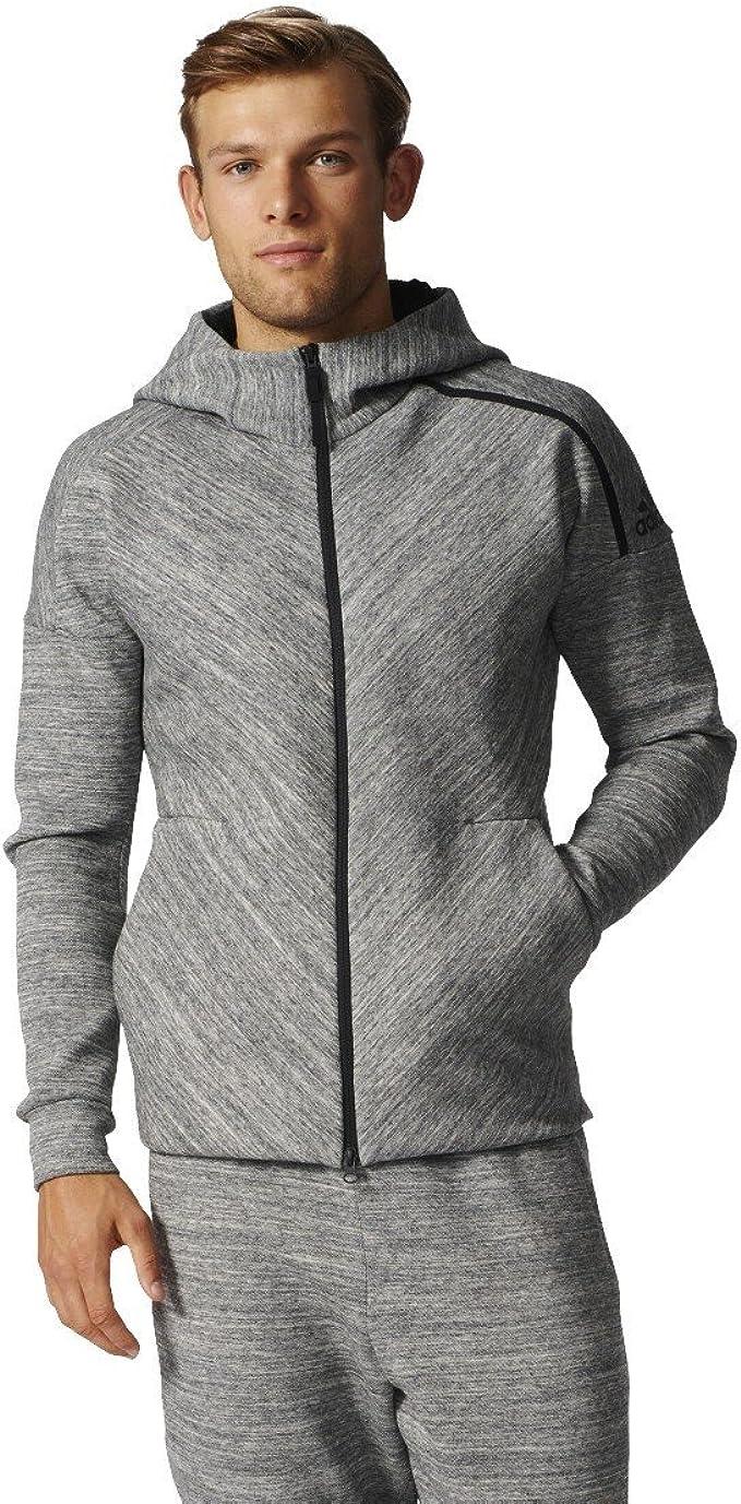 compañero carbohidrato profundizar  adidas Men's Zne Road Tr Hood Long Sweatshirt: Amazon.co.uk: Clothing