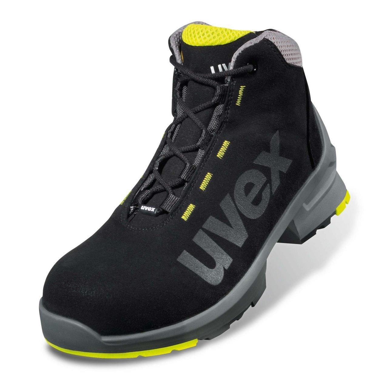 Uvex 1 14 Schnürstiefel 8545.0 S2 SRC Weite 14 1 45 Schwarz Schwarz 93f46f