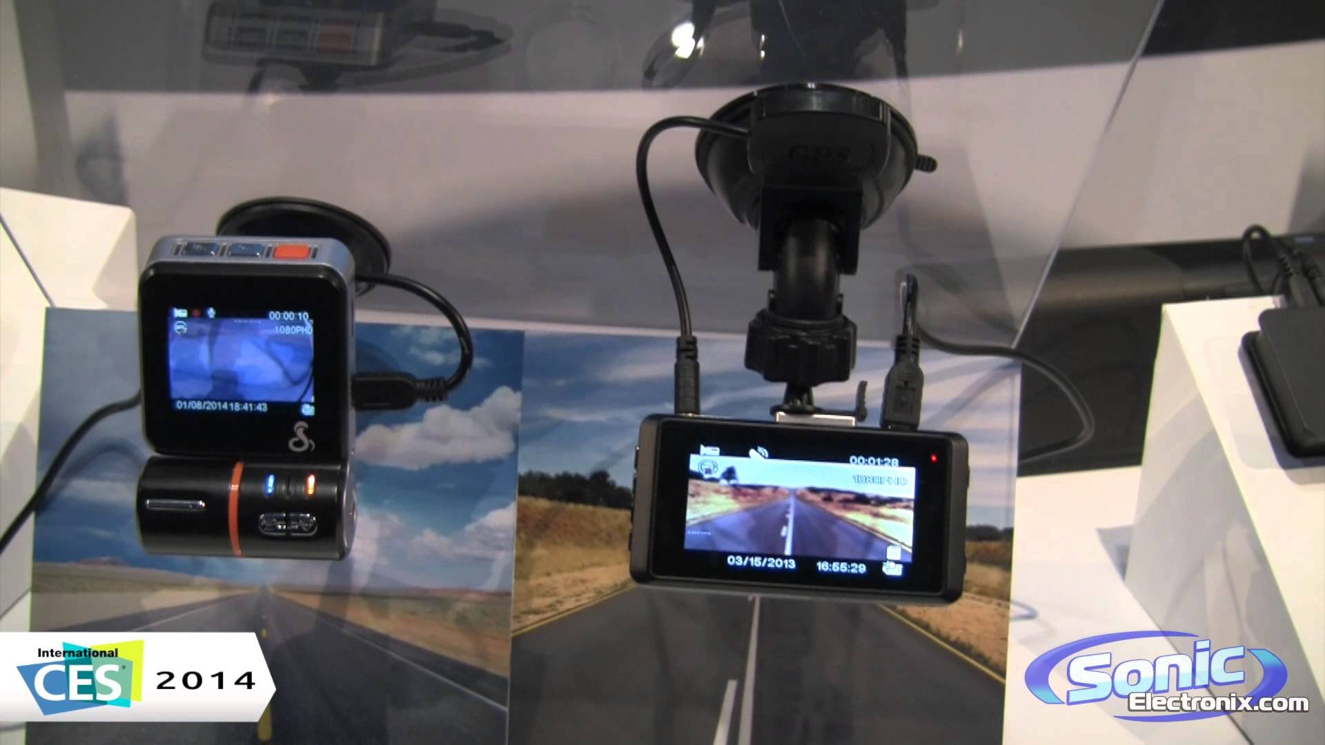 COBRA ELECTRONICS CDR830 1080P Pro Grade Dash Cam 12MP Cobra CDR810 & CDR830 Dash Cameras | CES 2014 - YouTube