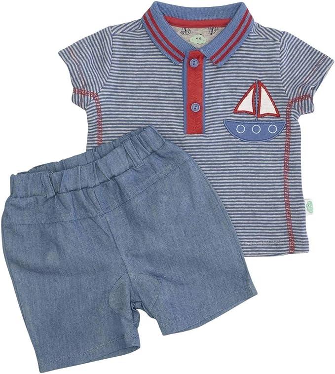 Nenè - Conjunto para bebé de 100% algodón, pantalón vaquero + ...