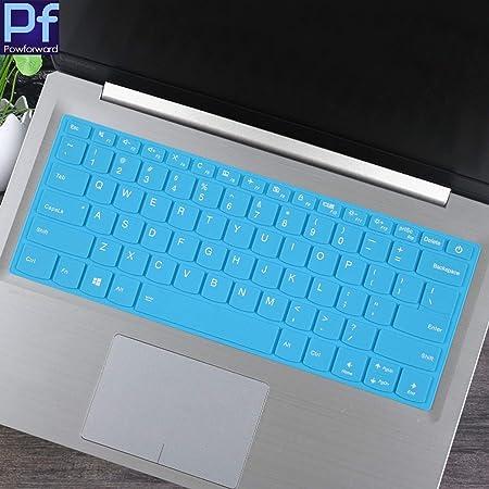 Silicone Keyboard Cover Skin Protector Laptop Notebook for Lenovo Yoga 730 15.6 Inch//for Lenovo Yoga 720 15 Inch,Fadewhiteblue