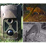Denver 1080p 8MP WCT-3004 Wildlife Camera, Motion Activated, Infrared Night Vision, 120 Degree Viewing Angle And IP 54 Rated Waterproof Outdoor Digital Camera