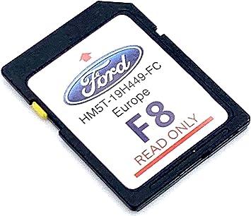 Tarjeta SD 2020/2021 Ford F8 Sync2 2020/2021 Sat Nav Mapas de actualización de mapas para toda Europa , HM5T-19H449-FB: Amazon.es: Electrónica