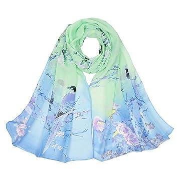 DYEWD Foulards,foulard Femme, 2018 nouvelle écharpe, foulard imprimé  papillon, écharpe mince 344b8cf8653
