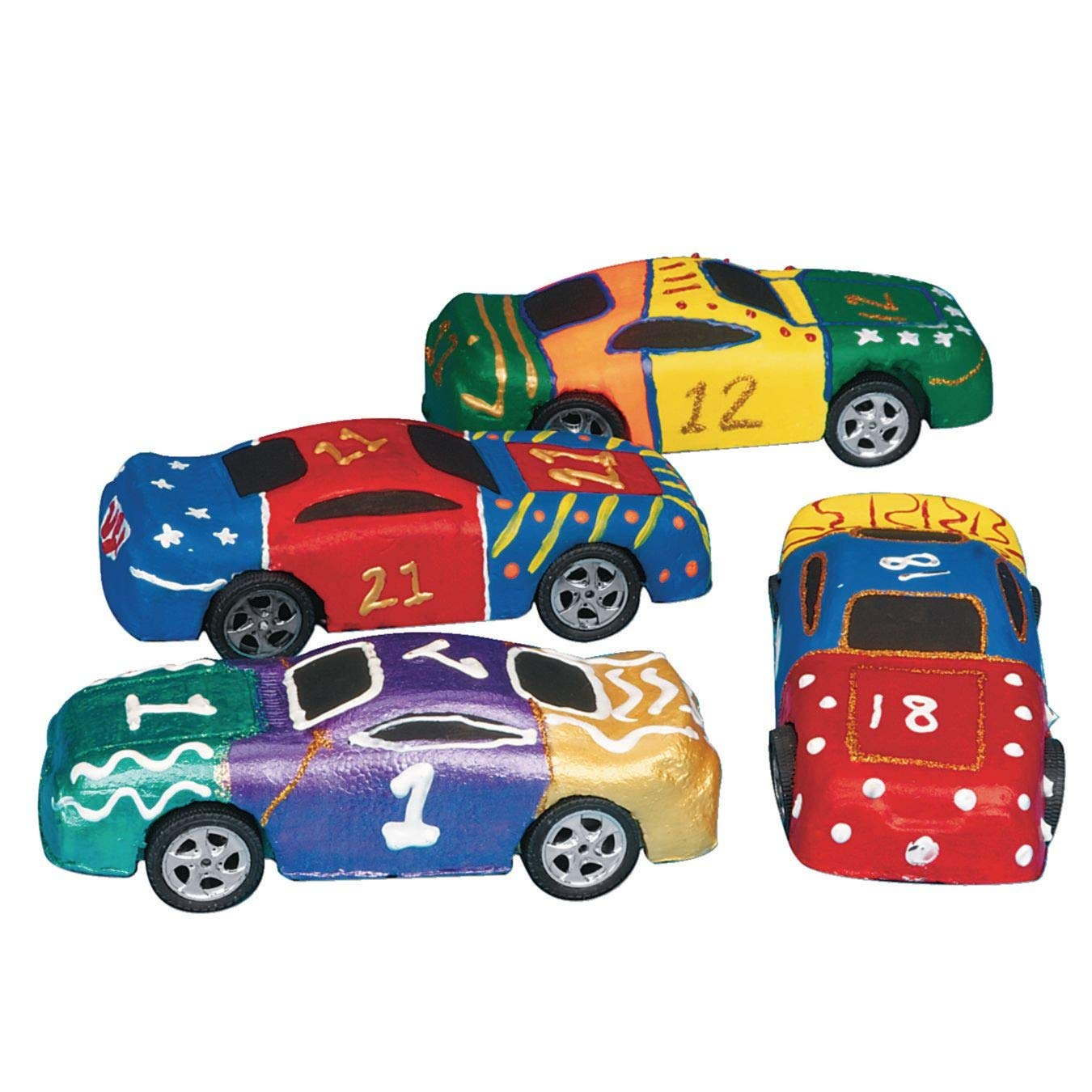 Foam Race Car (Pack of 24) by S&S Worldwide