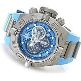 Invicta Men's 19478 Subaqua Swiss Chronograph Stainless Steel Blue Polyurethane Strap Watch
