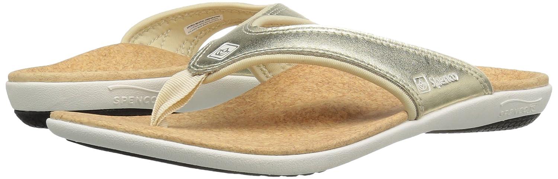 52f060355117ca Amazon.com  Spenco Women s Yumi Metallic Sandal  Shoes