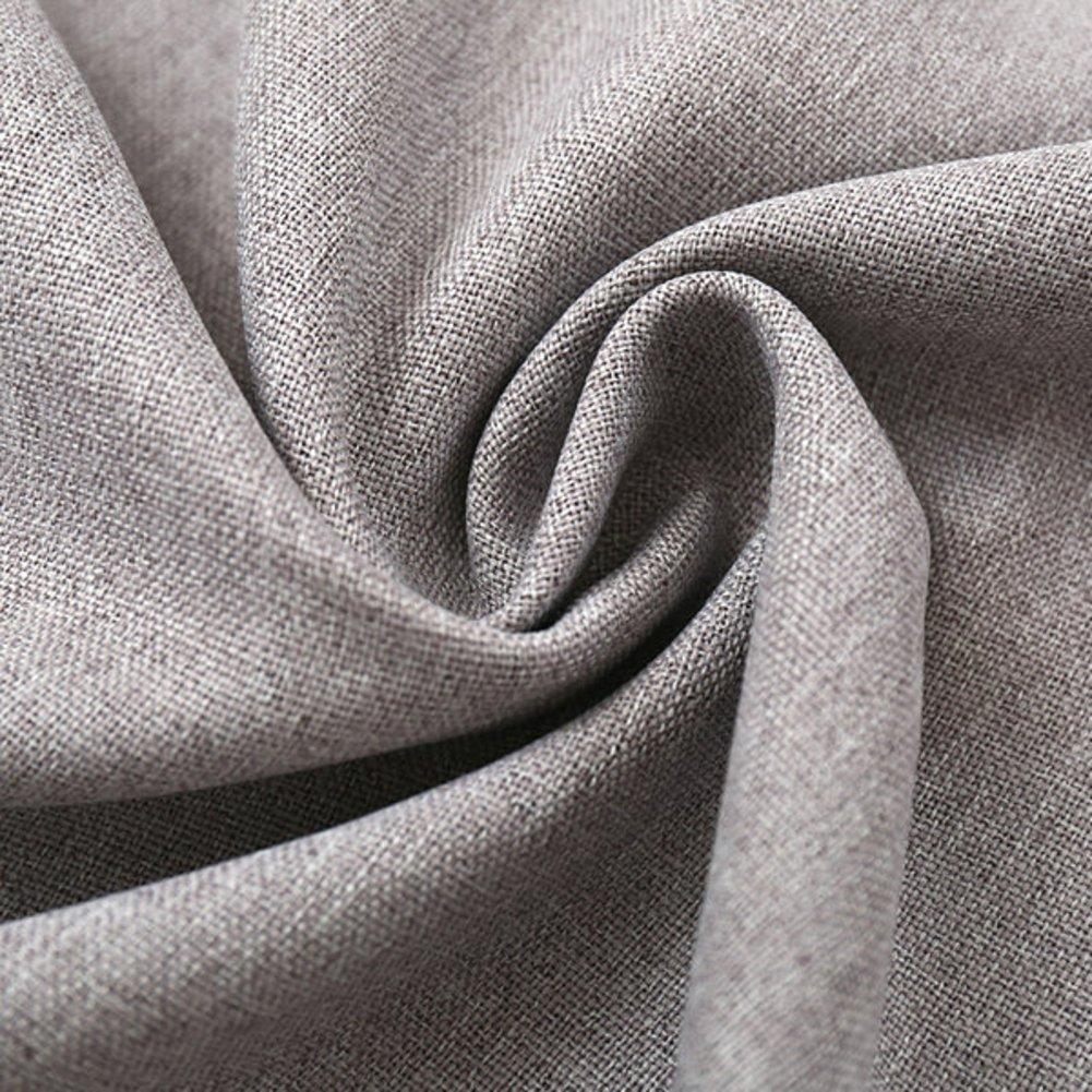 YoumeiHome Rideaux de fen/être Opaques Isolation Thermique,Europ/éen /Épais Solid Color Rideaux Vendu par Panneau-A 79 106inch