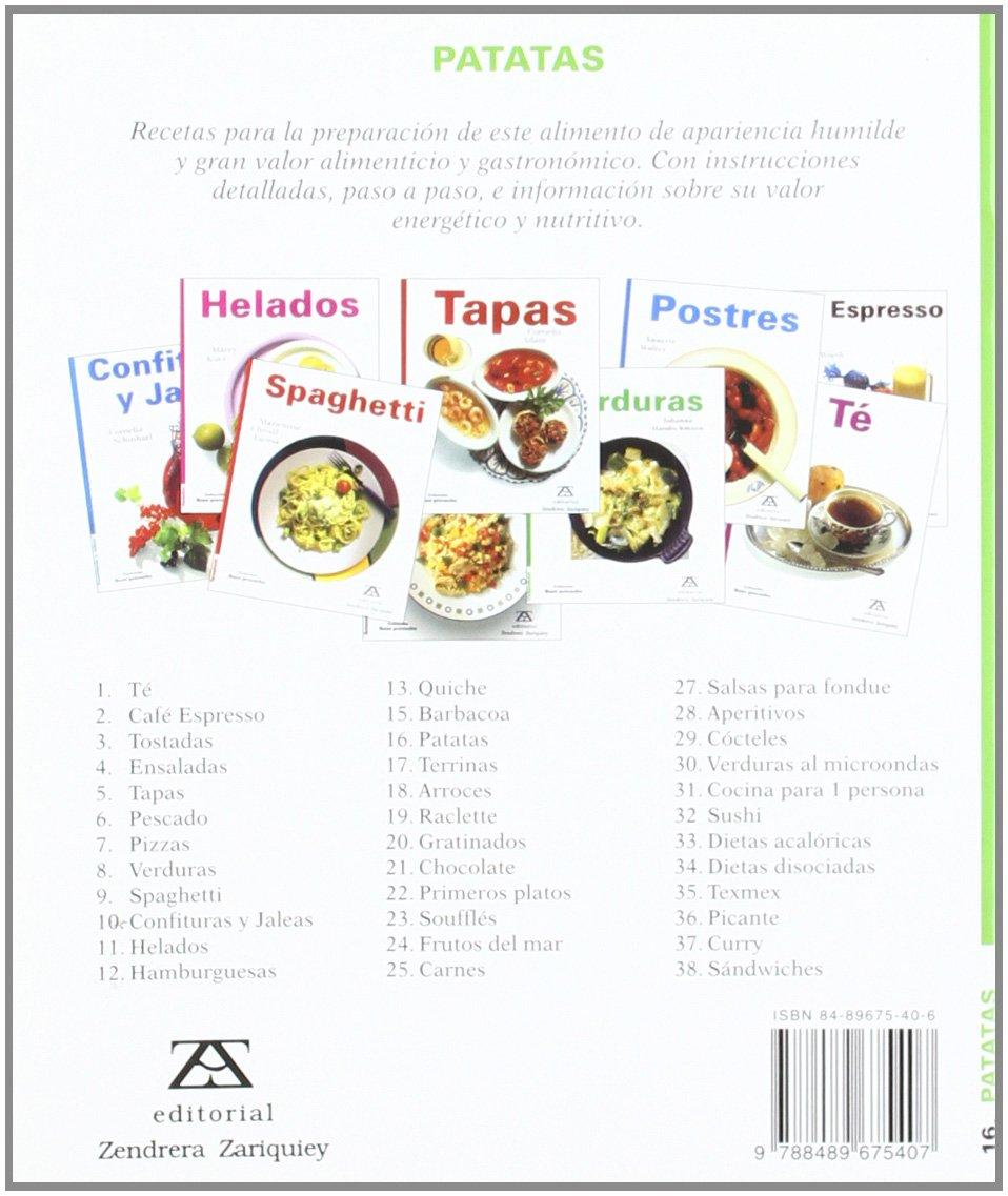 Patatas: Annette Wolter: 9788489675407: Amazon.com: Books