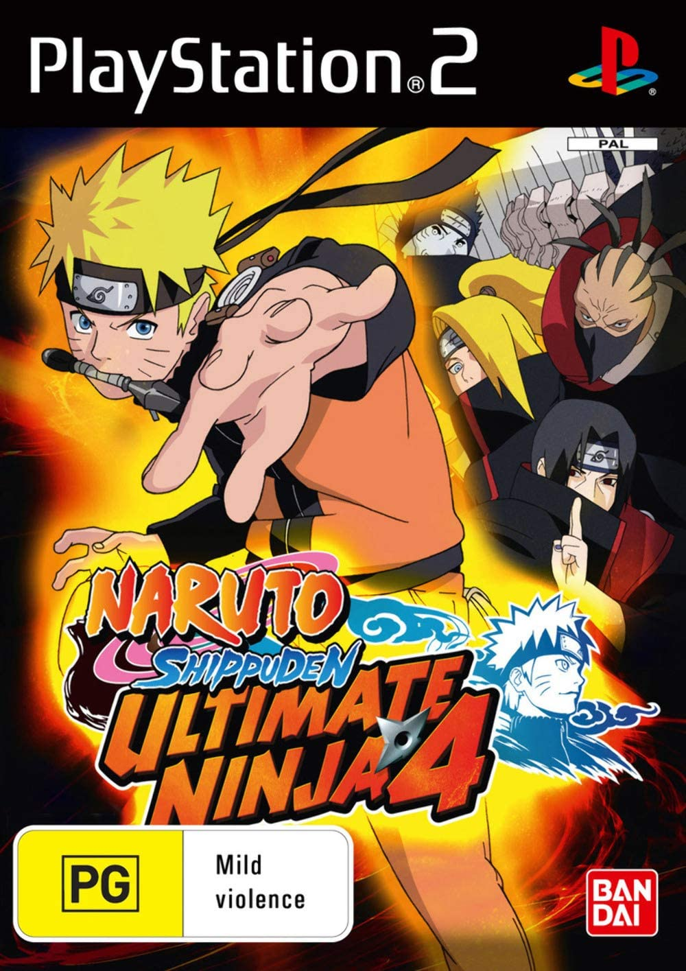 Ultimate Ninja 4: Naruto Shippuden (PS2): Amazon.co.uk: PC & Video Games