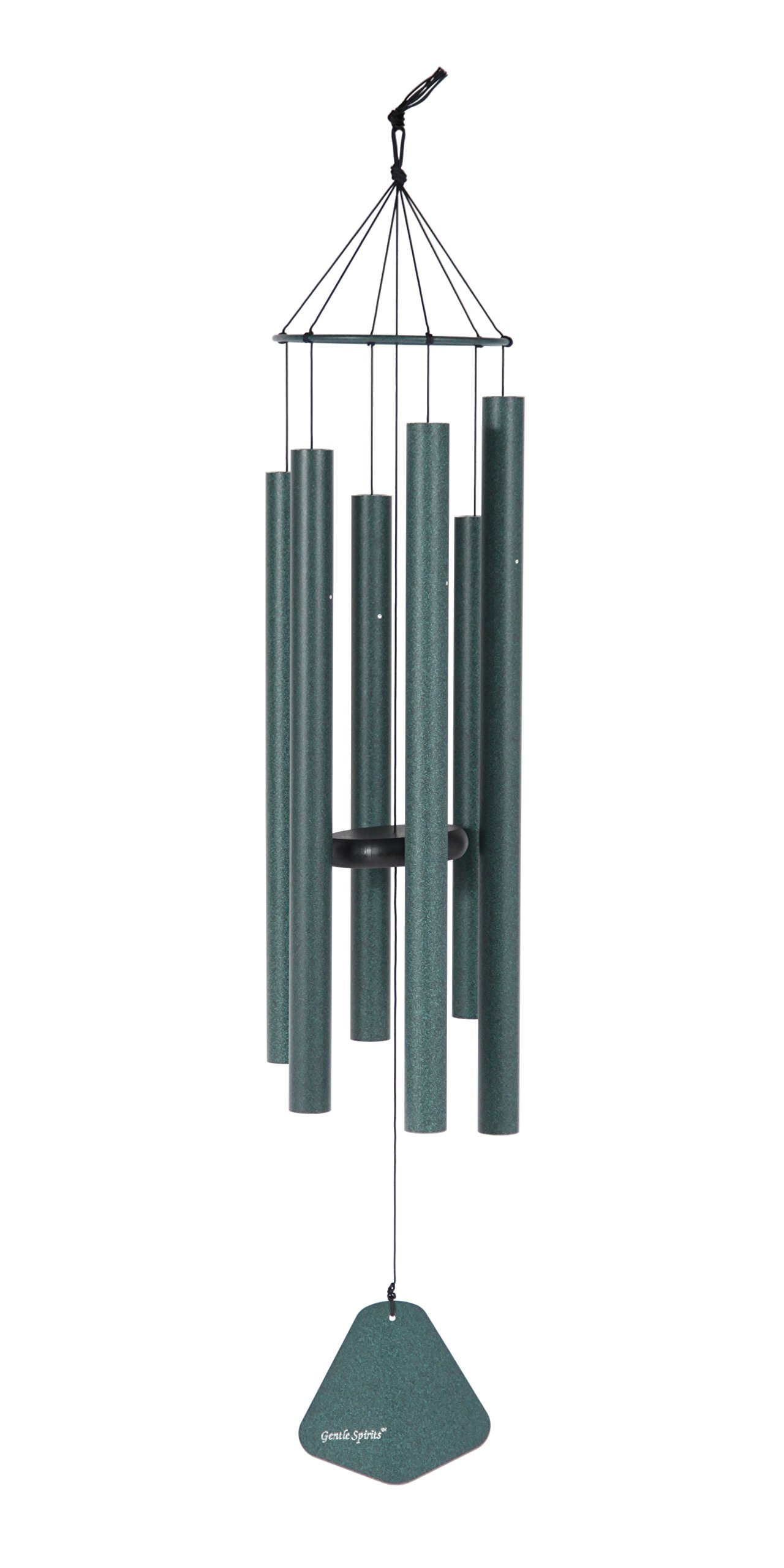Gentle Spirits 50-inch Windchime, Green