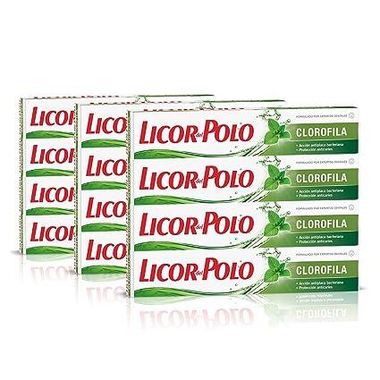 Licor del Polo Dentífrico Clorofila - 12 x 75 ml, Total: 900 ml ...