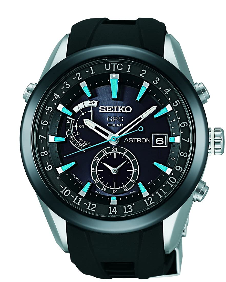 d75bef9e76c Amazon.com  Seiko Astron GPS Solar Mens Watch SAST009G  Watches