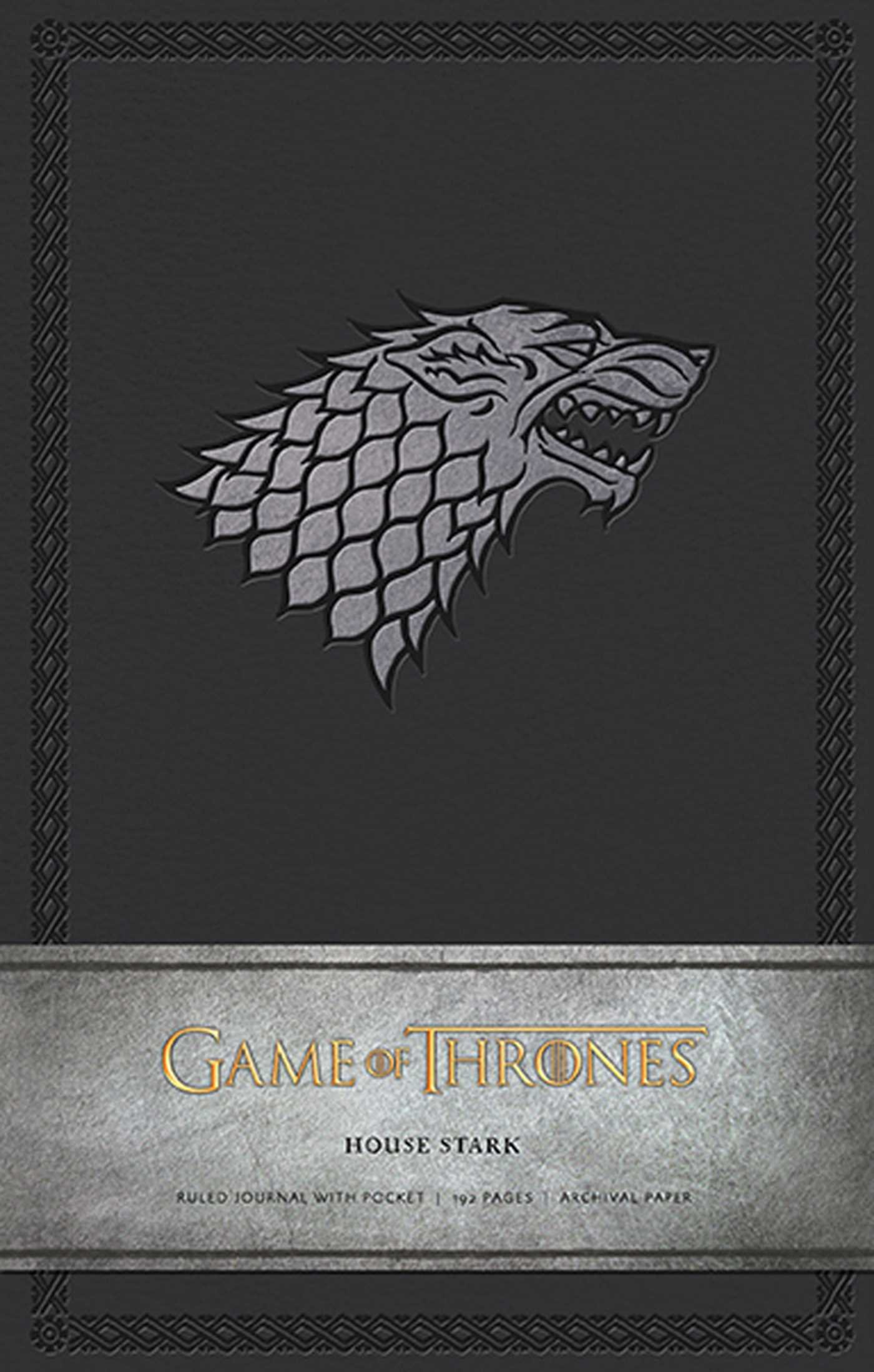 Game Of Thrones: House Stark Hardcover Ruled Journal (Insights Journals):  HBO: 9781608873685: Amazon.com: Books