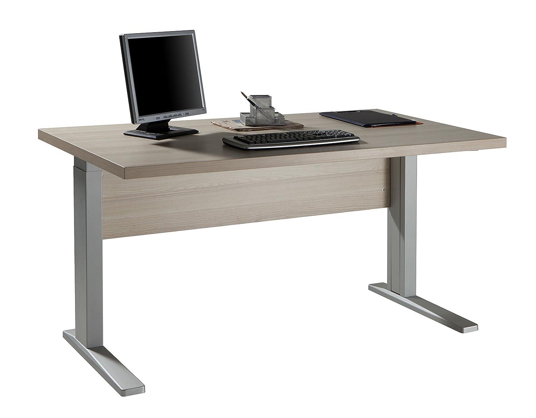 Scrivania Grande Da Ufficio : Scrivania in kit componibile studio ufficio legno frassino sr7023
