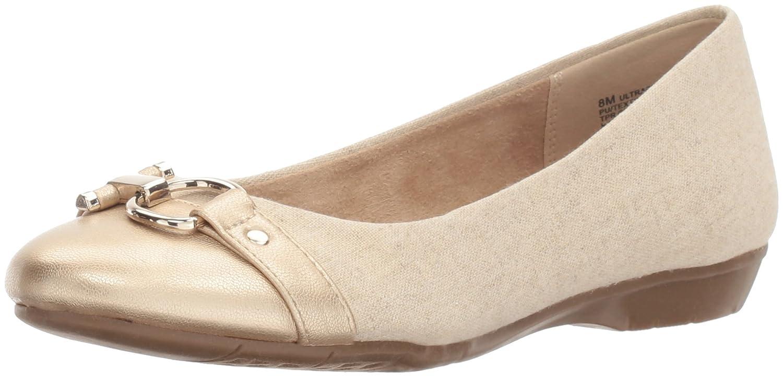 Aerosoles A2 by Women's Ultrabrite Ballet Flat B01MSWECI1 8.5 B(M) US|Gold Combo