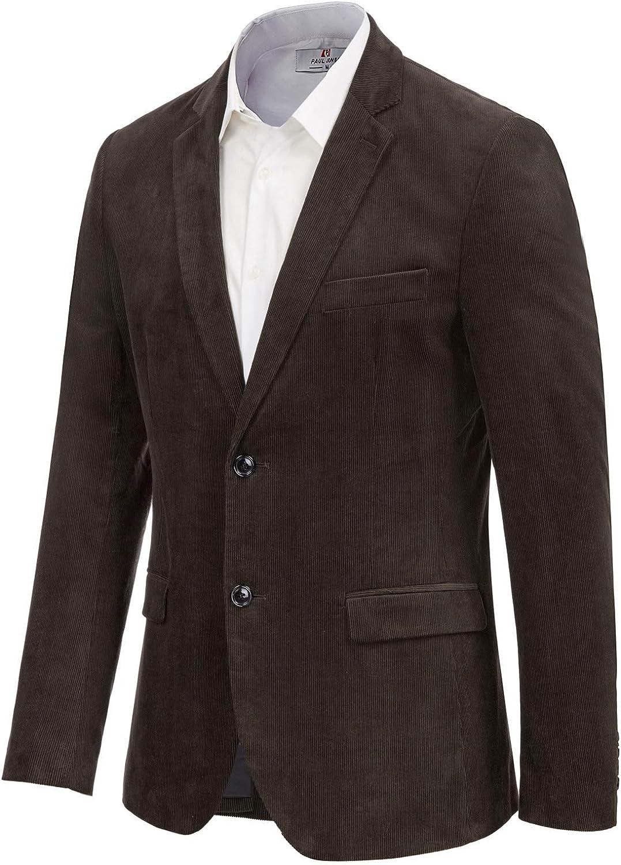 Vintage Unisex Black Corduroy Blazer Jacket S M