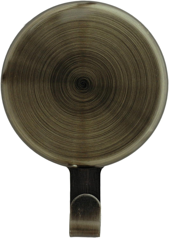 Haute Decor Attract Magnetic Hanger 10 lb Capacity 1-Pack (Antique Brass)