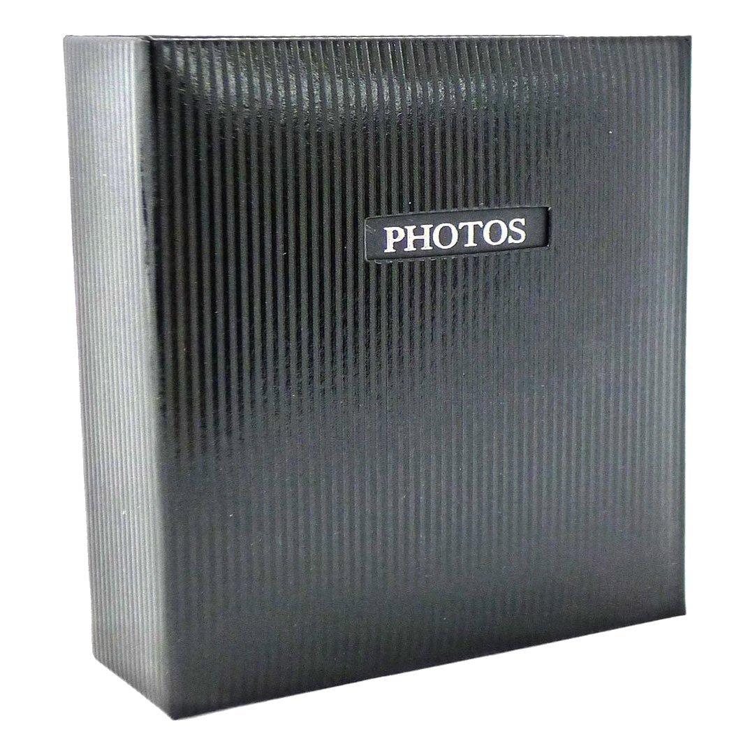 Dorr Elegance Black Traditional Photo Album 50 Side 11.5x12.5'' [810258BLK]