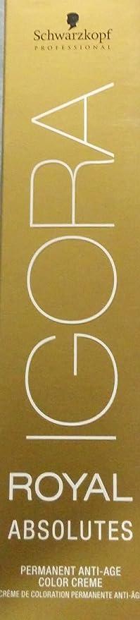Tinte igora royal absolutes 4-05 castaño medio natural dorado ...