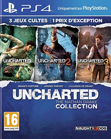 Sony Uncharted: The Nathan Drake Collection Coleccionistas ...