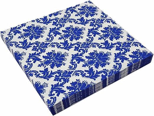 Amazon.com: Meiosuns servilletas de papel floral, tazas de ...