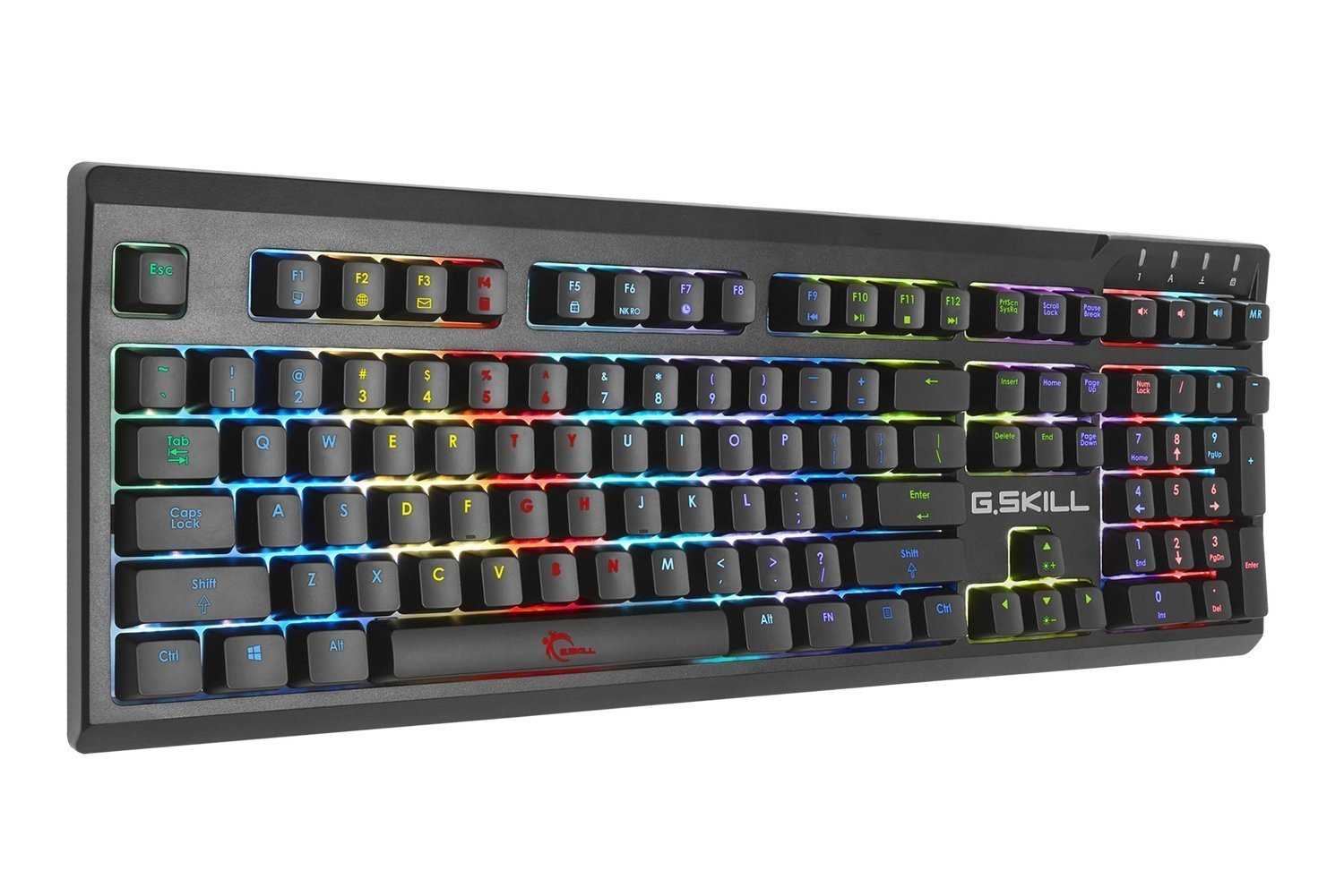 G.SKILL RIPJAWS KM570 RGB Mechanical Gaming Keyboard, Cherry MX Blue G SKILL Canada