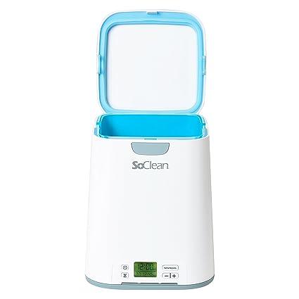 SoClean CPAP - Limpiador & Desinfectante, 2 Esterilizadores para Máscaras de Apnea del Sueño,