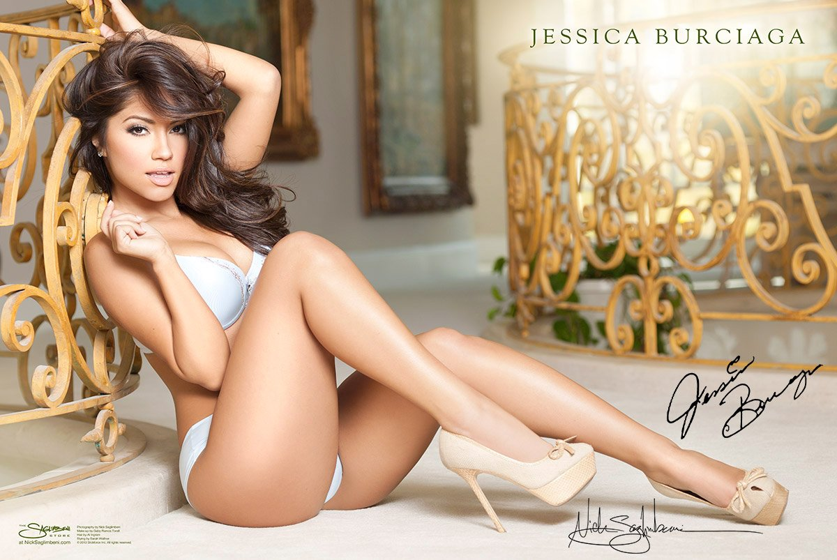 Playmate Jessica Burciaga X Collectors Edition Wmb D Worlds Most Beautifulhand Signed Wall Poster At Amazons Entertainment Collectibles Store