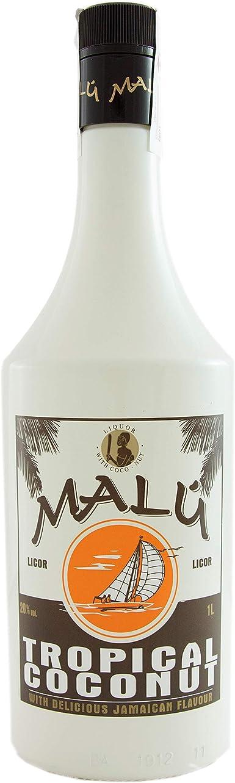 Malú Licores - 1000 ml: Amazon.es: Alimentación y bebidas