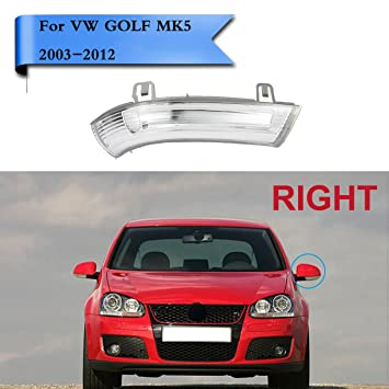 1k0949102 Right Side Mirror Indicator Turn Signal Light Lamp For Mk5