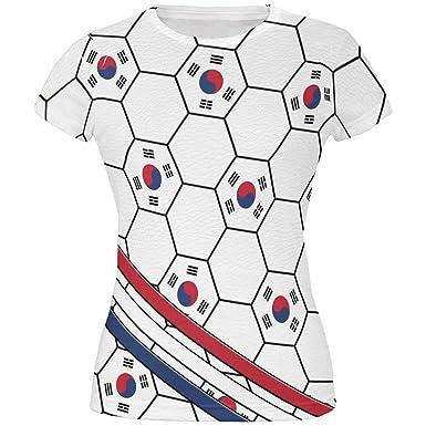 e387c99190b Amazon.com  World Cup South Korea Soccer Ball All Over Juniors T ...
