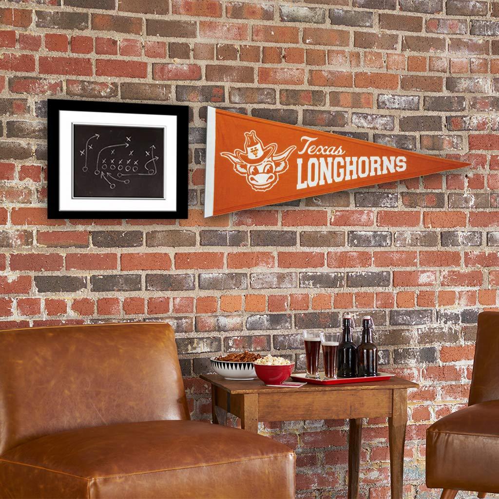 Winning Streak NCAA Texas Longhorns Vintage Pennant