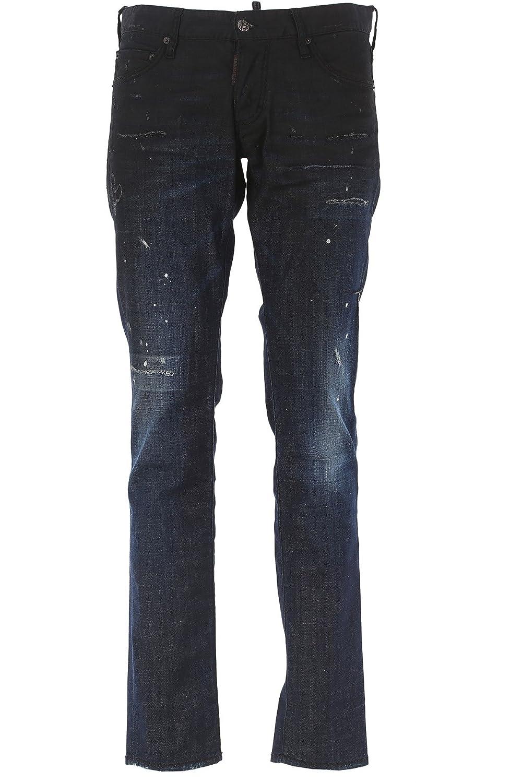 [ディースクエアード Dsquared2] 17SS スリムフィット メンズ Jeans 74LB0018 S30342 470 chn1205 [並行輸入品] B077XP6S75 42