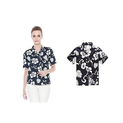 663ca658b Hawaii Hangover Matching Mother Son Hawaiian Luau Women Shirt Boy Shirt  Navy Hibiscus