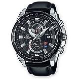 Casio Edifice – Montre Homme Analogique avec Bracelet en cuir Véritable – EFR-550L-1AVUEF