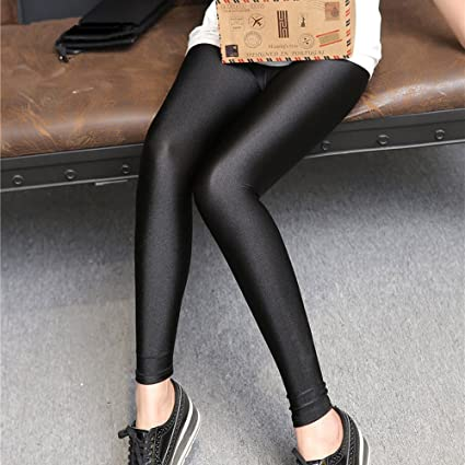 739c0fc7b5eb5 Youji 2019 Shiny Sexy Leggings Lycra Spandex Leggings for Lady Good Elastic  for Women Push up Shiny Leggings: Amazon.co.uk: Kitchen & Home