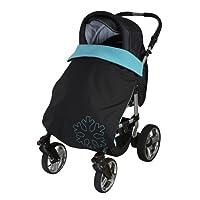 ByBoom® Copertina termoattiva in softshell per la carrozzina; copertina funzionale / universale/ da outdoor per bebè