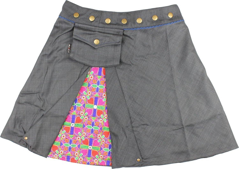 Moshiki Women's Wrap Skirt multi-coloured multicoloured One size