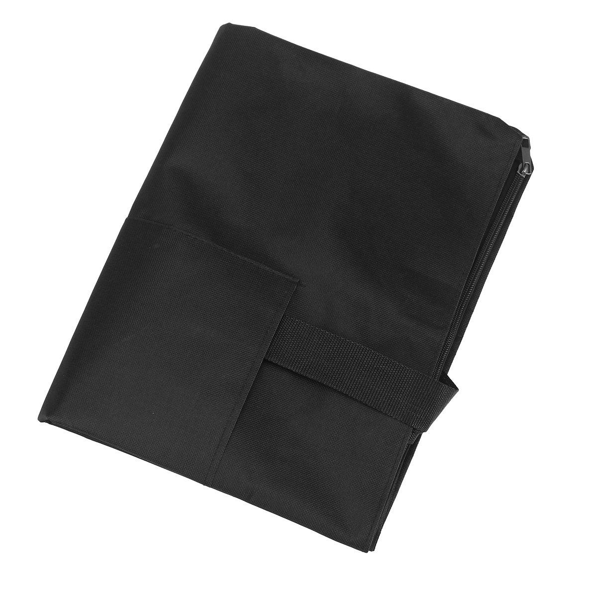 colore: nero impermeabile con manici formato A2 Healifty Cartellina da disegno