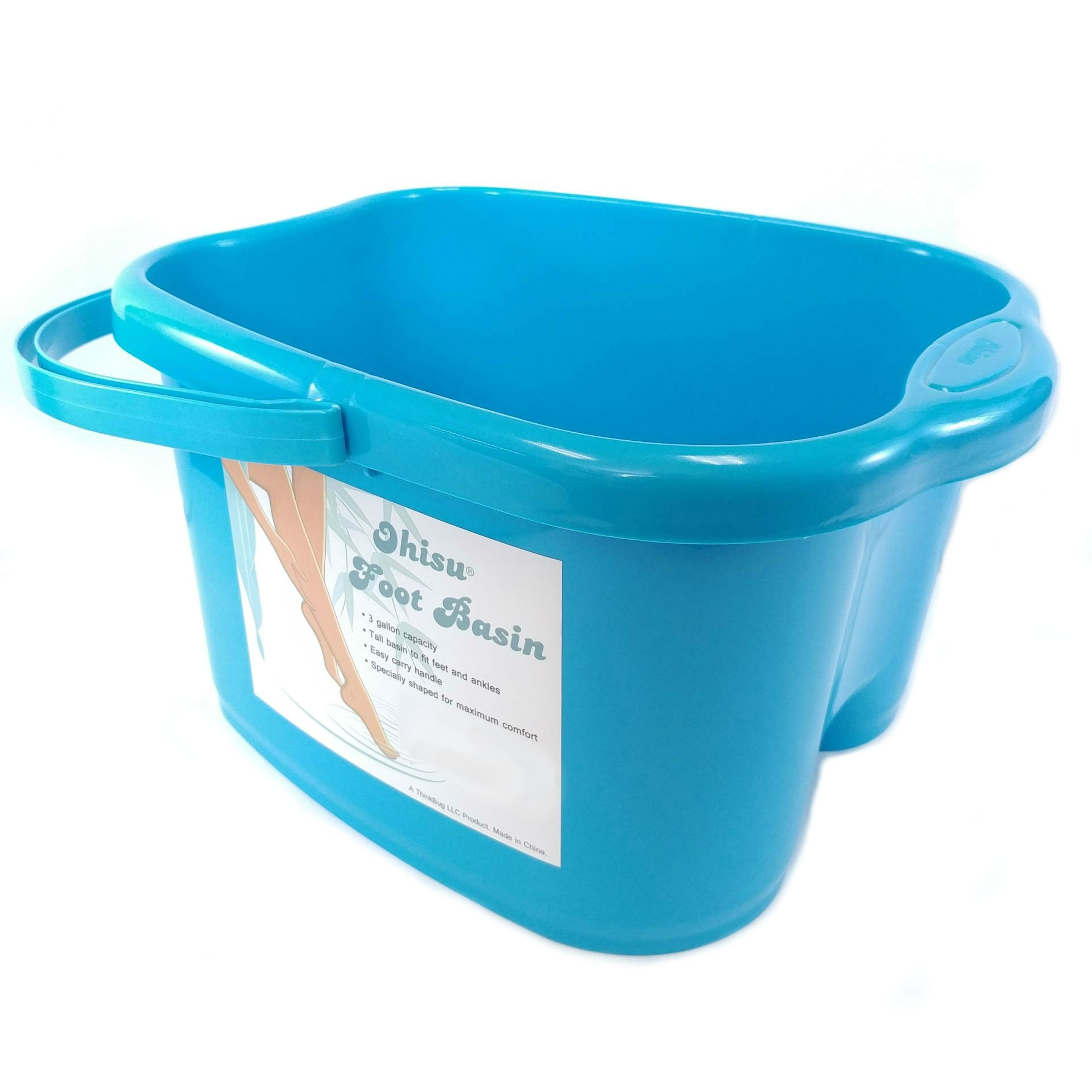 Ohisu Blue Foot Basin for Foot Bath, Soak, or Detox by Ohisu (Image #3)