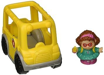 Little People - Maggie and Yellow School Bus: Amazon.ca: Patio ...