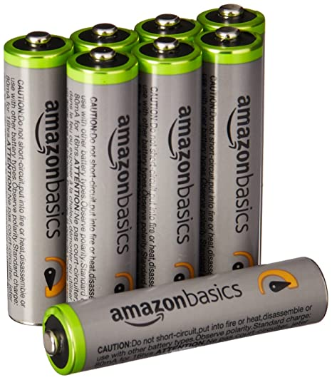 Review AmazonBasics AAA High-Capacity Rechargeable