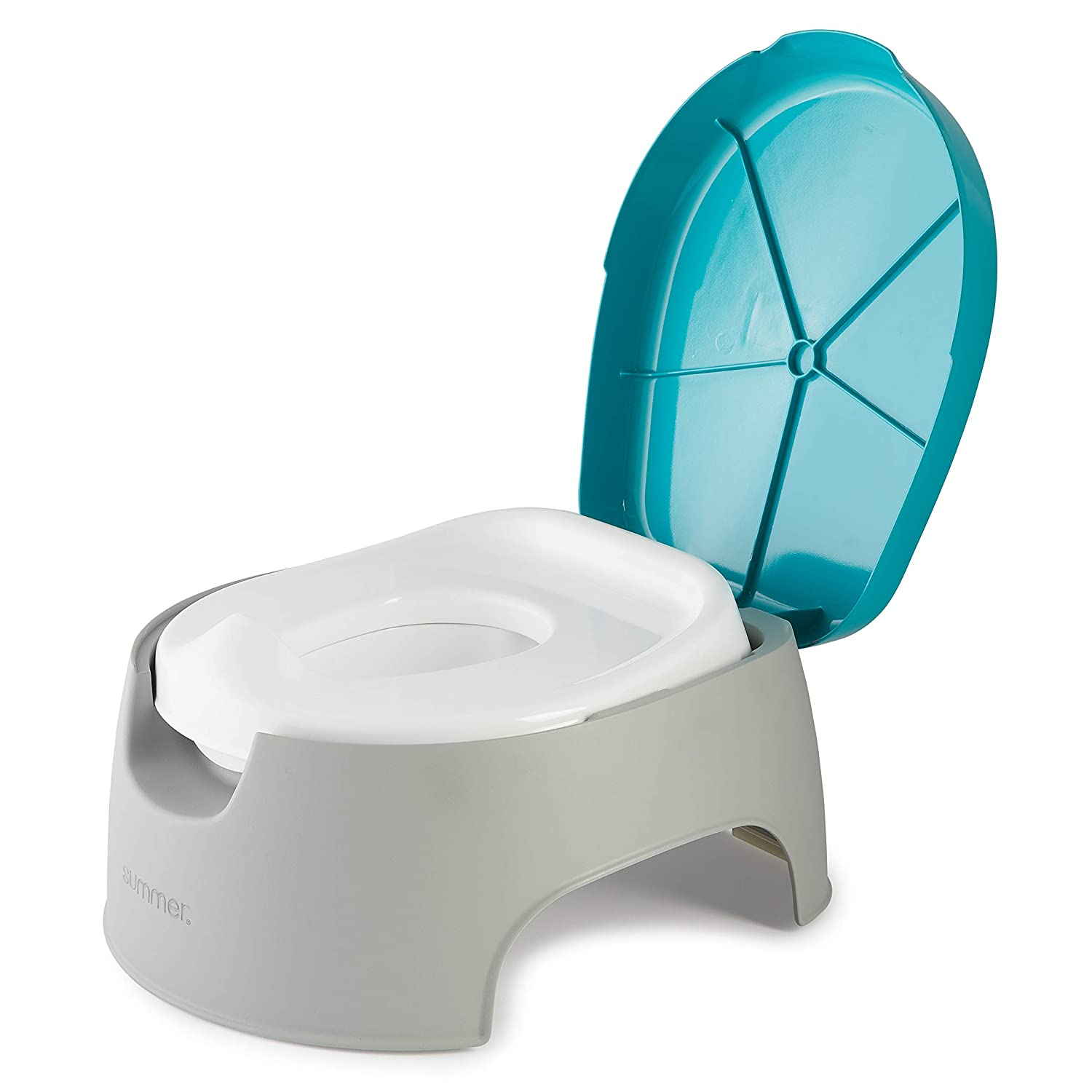 Amazon.com : Summer 3-in-1 Train with Me Potty – Potty Seat, Potty Topper and Stepstool for Toddler Potty Training and Beyond – Easy to Empty and Clean, Space Saving 3-in-1 Solution : Baby
