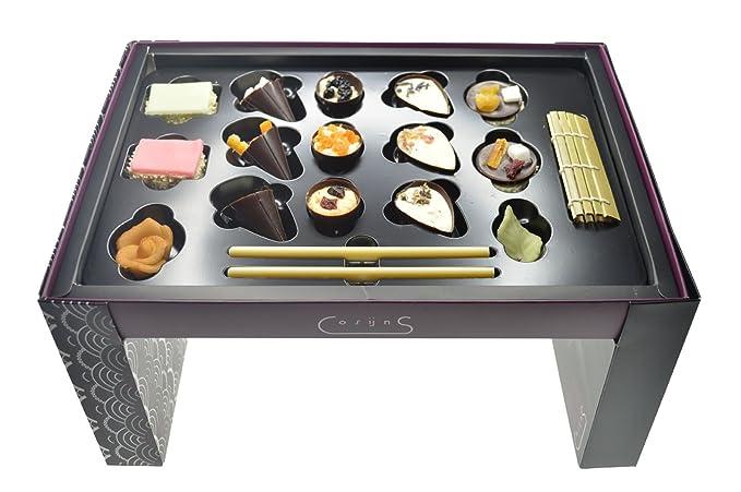 Cosijns Chocolatier - Sushi Dessert Garden Party Chocolates variados mezclados en bandeja - 1 x 200