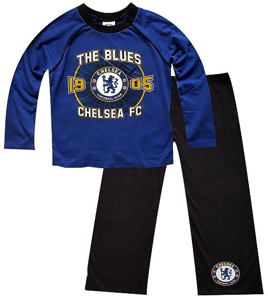 Boys Chelsea Blues Football Pajama 4-5 Years